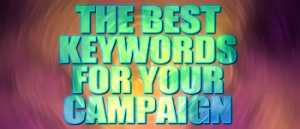 find the best keywords for your campaign